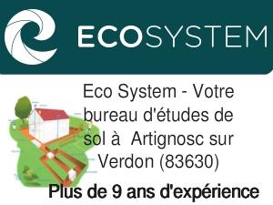 bureau d'étude de sol Artignosc-sur-Verdon 83630