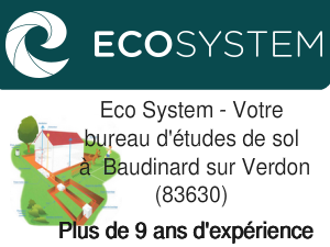 bureau d'etudes de sol Baudinard sur Verdon 83630